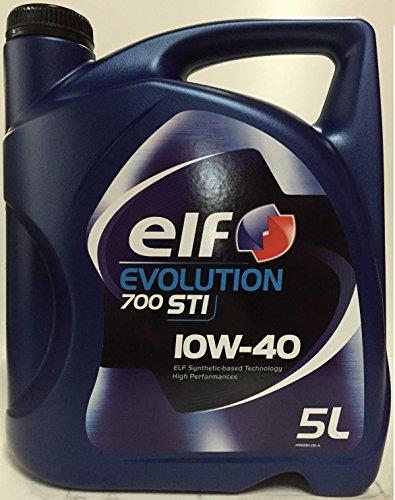Elf 1951052031 - olio semisinta‰tico evolution® 700 sti 10w40 5