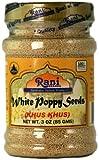 Rani Las semillas de amapola blanca (Khus Khus) 3 oz (85 g) - Jar