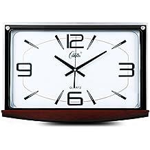 YYL Soggiorno Tranquillo Orologio Da Parete,Atmosfera Minimalista Office Time Clocks Orologio Da Parete-E