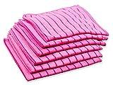 RESPEKT Mikrofaser - Tücher, 6tlg (ca. 40x40cm) Pink - Das Original aus Dem TV!!!