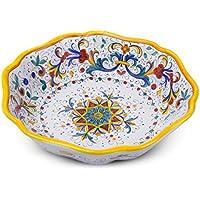 Amazon.it: deruta ceramica - Piatti, ciotole e vassoi / Stoviglie: Casa e  ...