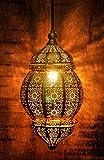 #6: GIG Gold Moorish Moroccan Hanging Pendant Lamp