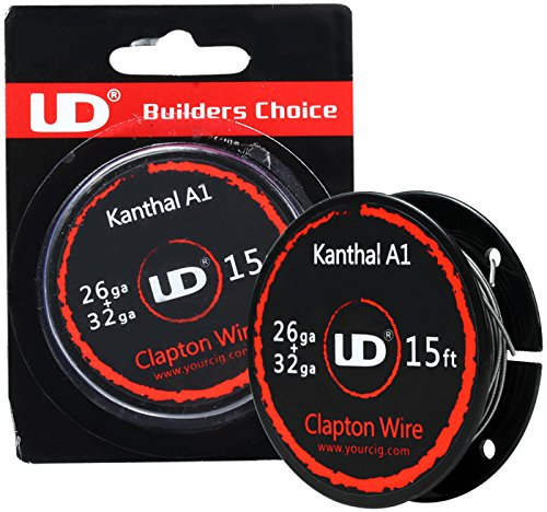 UD Youde Draht, Kanthal A1, Clapton 26+32 AWG, 5 m Spule