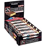 Weider 52% low carb protein bar, 24 barritas de 50gr