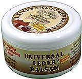 Markenlos Universal Lederbalsam 250ml mit echtem Bienenwachs Dosenfarbe kann variieren