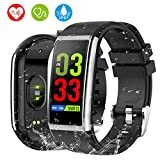 Orologio Fitness Tracker, HOLALEI 1,14' Bluetooth Smartwatch Uomo Donna...