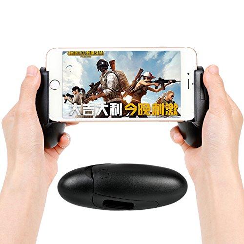 Preisvergleich Produktbild KASSIDY HAMILTON Game Triggers (links + rechts),  komfortabel L1R1 Phone Gamepad,  Halterung,  Griff von Spiel-Griff für Smart Phone iPad