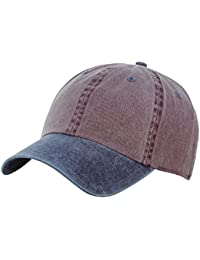 NYfashion101 Unisex Adjustable 6-Pannel Low-Profile Baseball Cap LOW100