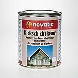 novatic HOLZLASUR DICKSCHICHTLASUR 2,5 l EICHE HELL