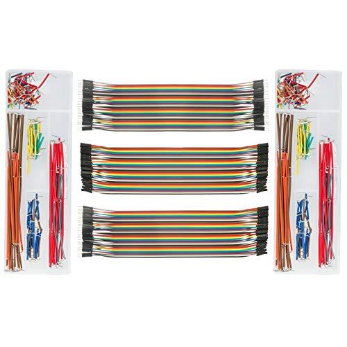 deyue Jumper Kabel Set für elektronische Experiment, Arduino/Raspberry Pi Project - Dimension One Circuit Board