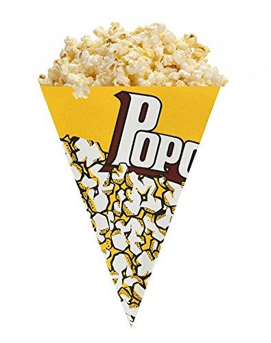 SWIFT Papier Popcorn Cones Medium/500ml gelb