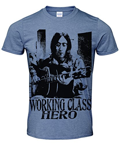 John Lennon Working Class Hero Vintage Style Print t Shirt Free UK p&p More Colours