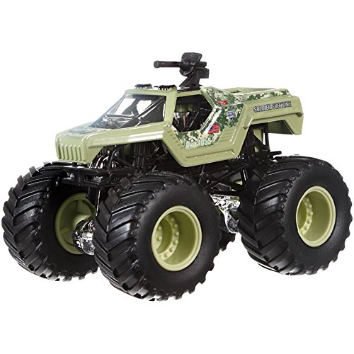 nster Jam Monster-Truck mit Team Flagge (Soldier Fortune) ()
