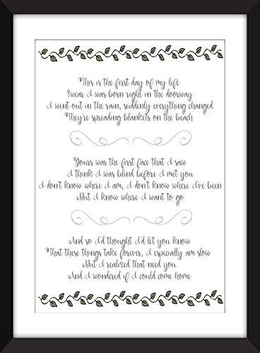 bright-eyes-first-day-of-my-life-lyrics-unframed-print