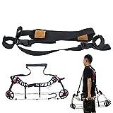 Bogensport Compoundbogen Zubehör verstellbare Schulter Seil Tragegurt Gürtelhalter verstellbarer tragbarer Gürtel für Compoudbögen Perfekt für das Gelände