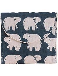 B : Kingko Women Girl Cute Sanitary Pad Organizer Holder Sanitary Pad Portable Storage Bag Napkin Towel Convenience...