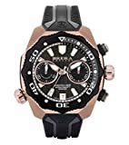 Negro / Rose Gold Pro Diver Relojes de Brera Orologi