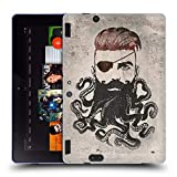 Head Case Designs Officiel Vin Zzep Barbe Noire Vintage Étui Coque en Gel Molle pour Amazon Kindle Fire HDX 8.9