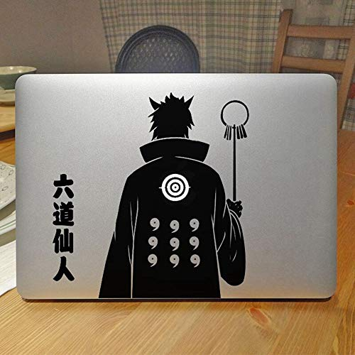 Leuchtende Hagoromo Salbei von sechs Pfaden Naruto Laptop Sticker Decal - Baum Laptop Decal