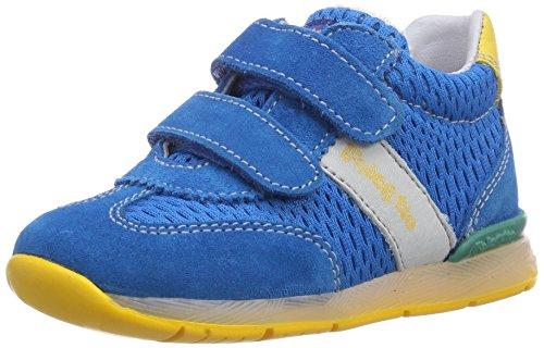 Naturino FALCOTTO ANDY VELCRO, Sneaker per neonati bambino, Multicolore (Mehrfarbig (SKY-GIALLO)), 21