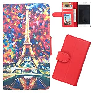 DooDa - For Samsung Galaxy Star pro PU Leather Designer Fashionable Fancy Wallet Flip Case Cover Pouch With Card, ID & Cash Slots And Smooth Inner Velvet With Strong Magnetic Lock