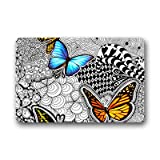 Dalliy Kunst Malerei Schmetterling Fu?matten Doormat Outdoor Indoor 23.6