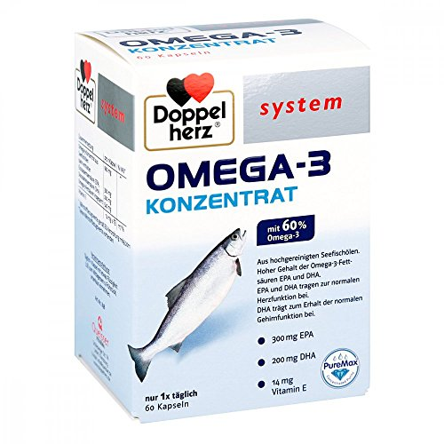 Doppelherz Omega-3 Konzentrat system Kapseln 60 stk