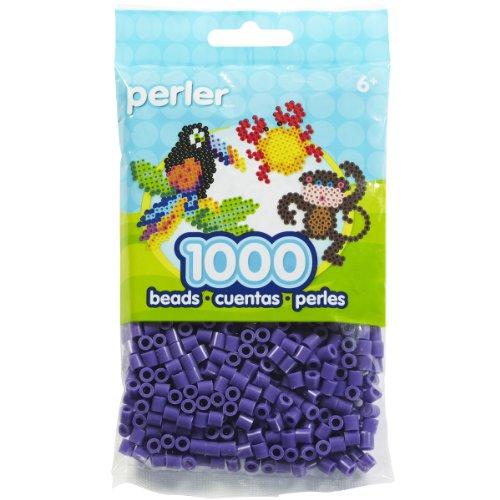 Perla Placer Fusión Abalorios 1000 / Paq-Purple