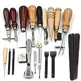18pcs die Werkzeug-Leder hat reguliert die Sets der Werkzeug-Naht der Hand für diy