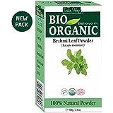 Indus Valley Brahmi Powder 100% Organic & Chemical Free Hair Cleanser For Healthy Hair (100gm)