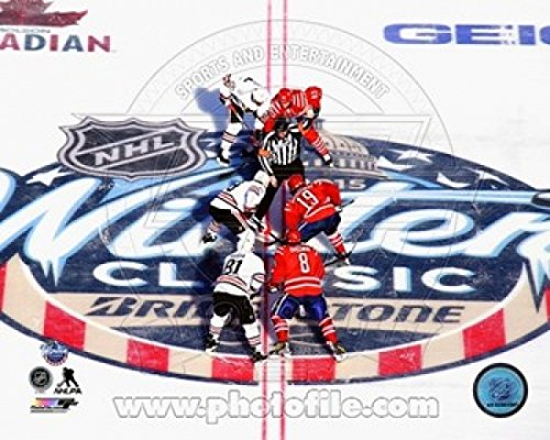 Nhl Poster Shop (The Poster Corp 2015 NHL Winter Classic Opening Faceoff Photo Print (25,40 x 20,32 cm))