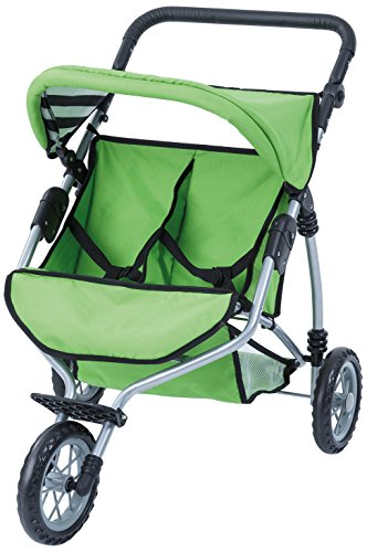 Preisvergleich Produktbild Bayer Design 33927AA - Puppen-Zwillingsjogger, grün