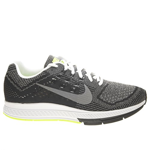 Nike Mens Air Zoom Structure 18 Black White Textile Trainers Size 9 UK