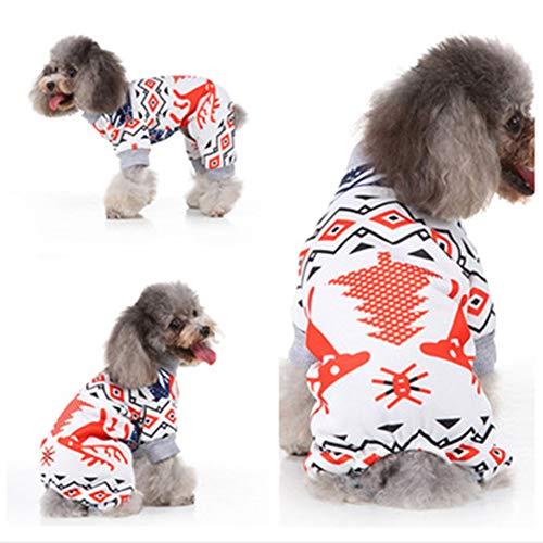 Songyan Halloween Weihnachten Netter lustiger Tierbedarf lustige Alternative verkleiden Kapuze Warmer Hund Kleidung Cosplay (Lustige Hunde Und Besitzer Kostüm)