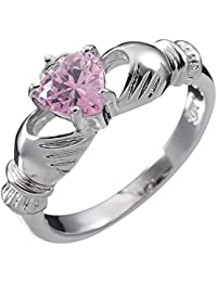 co uk white gold claddagh rings jewellery