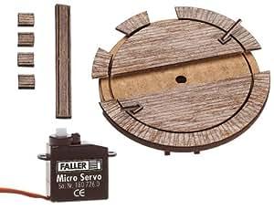Faller 222114 - Kleine Waggondrehscheibe mit Servoantrieb