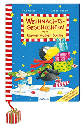 Der kleine Rabe Socke: Weihnachtsgeschichten vom kleinen Raben Socke