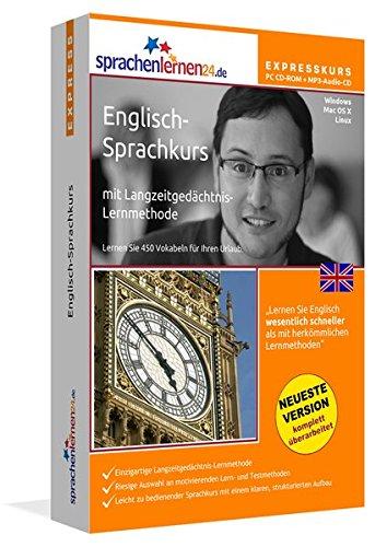 Sprachenlernen24.de Englisch-Express-Sprachkurs PC CD-ROM für Windows/Linux/Mac OS X +...