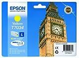 Epson T703440 Workforce PRO WP 4015/4025/4545 Inkjet/getto d'inchiostro Cartuccia originale