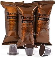 Yespresso Capsule Nespresso Compatibili Milano - Confezione da 100 Pezzi