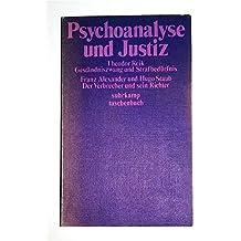 Psychoanalyse und Justiz.