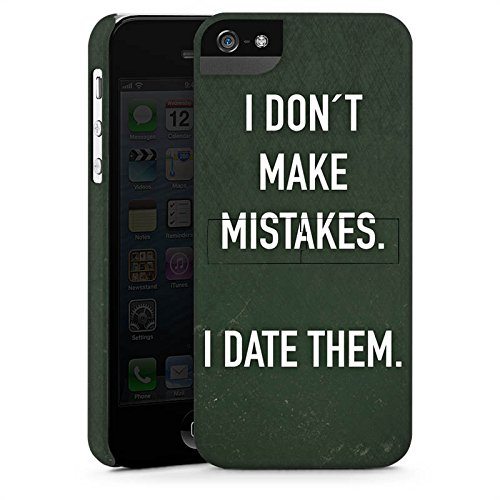 Apple iPhone X Silikon Hülle Case Schutzhülle Date Humor statement Premium Case StandUp