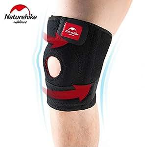 Generic 2pcs, M : 2pcs/pair hike sports knee pads Men 's Running Hiking Climbing Basketball Volleyball Badminton knee protector