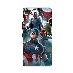 SUPERHERO CAP BACK COVER FOR LENOVO K3 NOTE