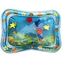 Dastrues Water Filled Baby Patted Pad Gonflable Water Cushion Playmat for Kids