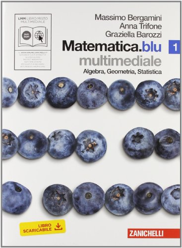 Matematica.blu. Algebra. Geometria. Statistica. Per le Scuole superiori. Con DVD-ROM. Con espansione online: 1