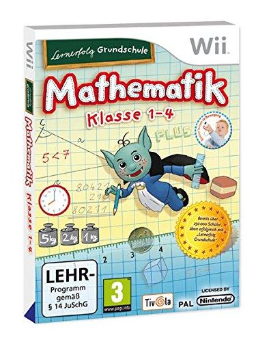 Lernerfolg Grundschule: Mathematik Klasse 1 - 4 - [Nintendo Wii]