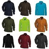 #1: SOLS Mens North Full Zip Outdoor Fleece Jacket