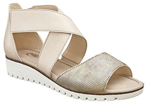 Gabor , chaussures compensées femme Beige - Beige