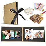 Koooper Album Photo DIY, Scrapbook (80 Pages, 40...